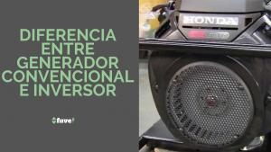Diferencia entre generador convencional e inversor