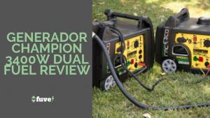 Generador Champion 3400W Dual Fuel Review