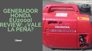 Generador Honda EU2000I Review ¿Vale la pena