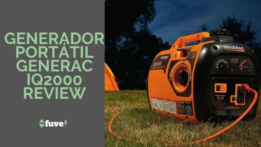 Generador portátil Generac IQ2000 Review