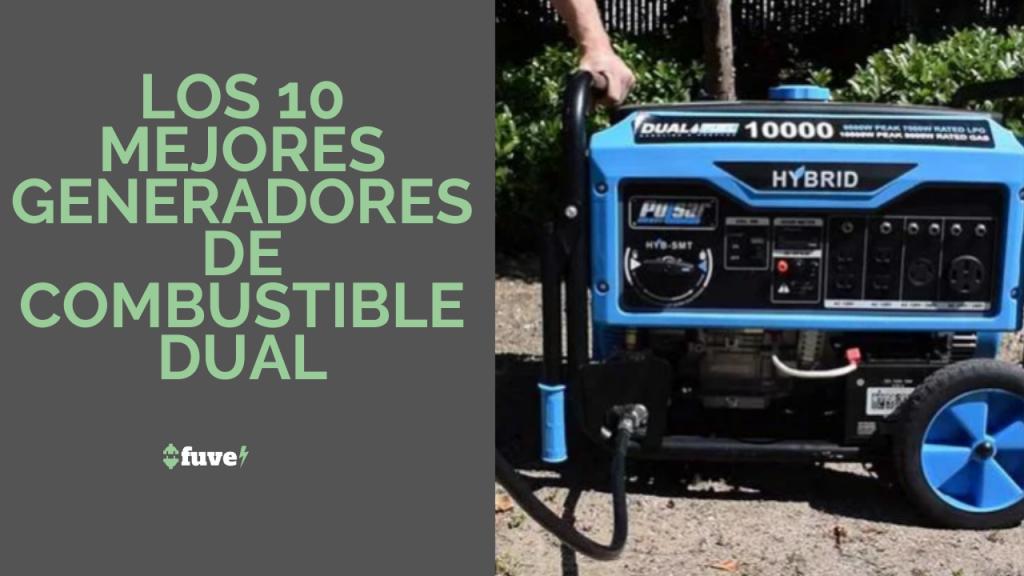 Los 10 mejores generadores de combustible dual