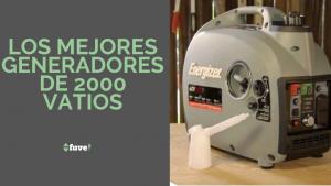 Los mejores generadores de 2000 vatios