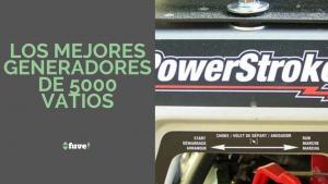 Los mejores generadores de 5000 vatios