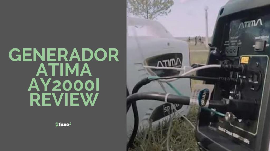 Generador Atima AY2000i Review