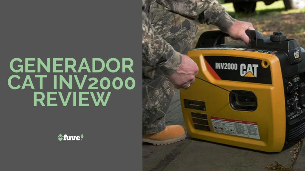 Generador CAT INV2000 Review