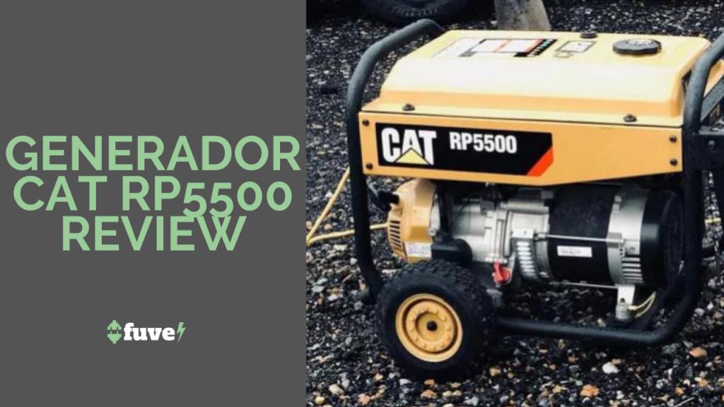 Generador CAT RP5500 Review