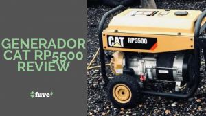 Generador CAT RP5500 Review