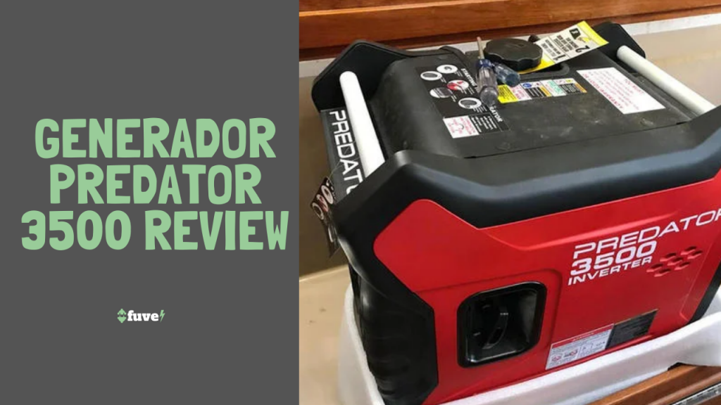 Generador Predator 3500 Review