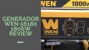 Generador Wen 56180 1800W Review (1)